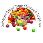 Rainbow Drops Type Flavored Terpenes**