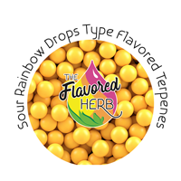 Sour Rainbow Drops Type Flavored Terpenes**
